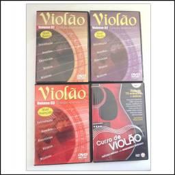 Aprenda Violão em DVD's