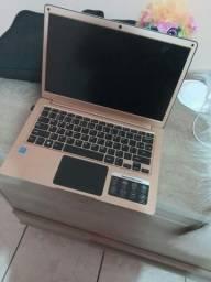 Notebook Multilaser legacy dourado