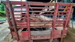 Carroceria para Caminhão Toco 7 Metros Em Madeira