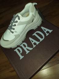 Tênis Prada Block Branco novo