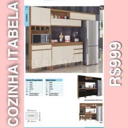 Armário de cozinha itabela 999 armário de cozinha