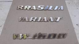 Emblemas aluminium