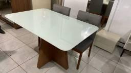 Mesa de jantar casa linda 4 completa