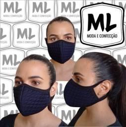 Máscara de Tecido Lavável 100% Proteção Premium  M&L Máscaras Melhor Preço! Envio Imediato