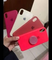 Título do anúncio: 4 cases iPhone XR, usadas