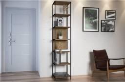 Pronta Entrega: Estante/6 Prateleiras, para Closet, Office, Estar..., 45L, R$948,89!