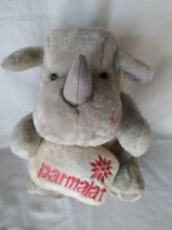 Bicho de Pelúcia Parmalat Rinoceronte