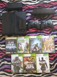 Xbox 360 bloqueado em perfeitas condições