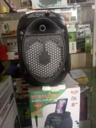 Caixa de som Bluetooth karaoke promoção