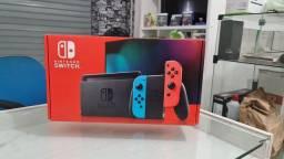 Nintendo Switch Neon 32GB Lacrado 1 Ano de Garantia e Nota Fiscal ( Loja Física )