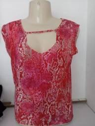 Blusa feminina rosa