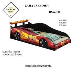 cama infantil carro montagem de guarda roupa ,instalação de painel