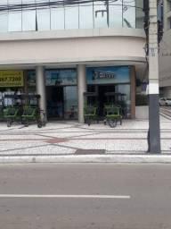 Centro, loja frente Av Atlântica, 130 m², muito bem localizada