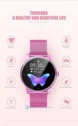 Título do anúncio: Oferta relâmpago ?! Smartwatch Academia JrbL Butterfly 2021 na cor Rosa! Lindo!