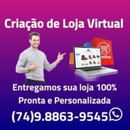 Título do anúncio: Criação de Loja Virtual (E-commerce)