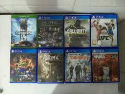 Jogos só para trocar (PS4)