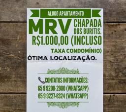 ALUGO Apartamento MRV Chapada Dos Buritis.