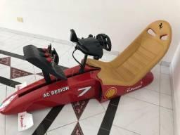 Cockpit F1 Ferrari