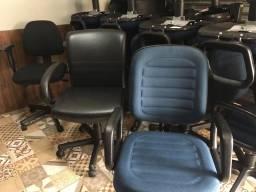 50 cadeiras de escritório giratória