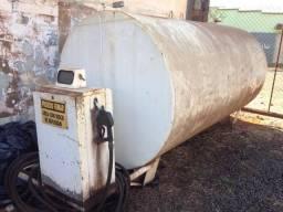 Tanque de combustível + bomba