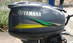 Motor de popa yamaha 15 hp 2 tempos - 2015
