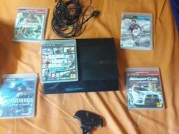 PS3 5 jogos sem o controle 600
