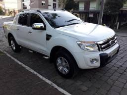 Ford Ranger limited 4x4 diesel automática ( aceito trocas ) - 2015