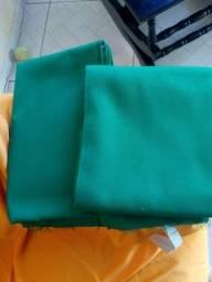 2 panos de sinuca verde 1,80