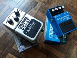 Pedaleira/pedal guitarra
