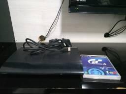Vendo PS3 slim bloqueado com 16 jogos