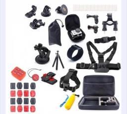 Kit de Acessórios Gopro Hero 5 4 3 2 6 Black edition