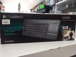 Teclado wireless com Touchpad - Logitech