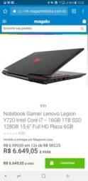 Notebook Lenovo Gamer