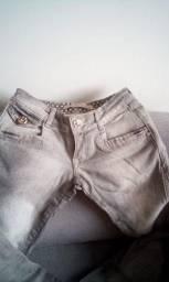 Calca marca handara jeans cinza