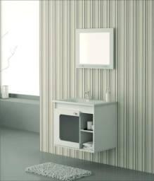 Gabinete suspenso para banheiro com cuba