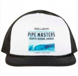 ad378b8cca07a Boné Billabong Pipe Masters North Shore Hawaii Original Eua