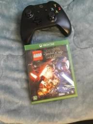 Controle + jogo