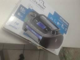 Radio fm com entrada pendrive
