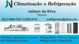 Serviços em ar condicionados em geral