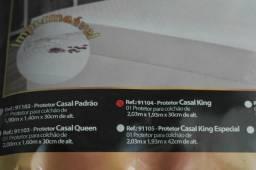 Capa colchão king