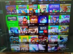 Conta Xbox live com mais de 200 jogos