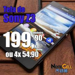 Tela do Sony Z3