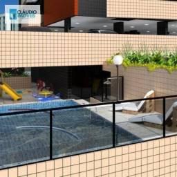 Apartamento com 3 dormitórios à venda, 145 m² por r$ 495.000 - jatiúca - maceió/al