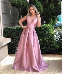 Vestido de festa lindo - Aceito cartão de crédito