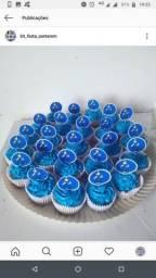 Kit festa, bolos grande, pequeno e médio, salgados, cupcakes, brigadeiro.etc,