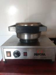 Máquina para fazer casquinha de sorvete