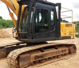 Escavadeira Hyundai r210