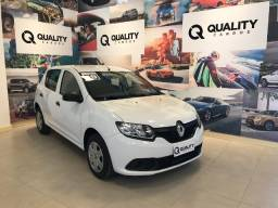 Renault - Sandero Authentique Flex 1.0 12V 5p - 2019