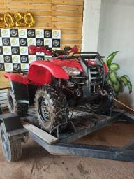 Quadriciclo honda fourtrax 4x4 - 2013