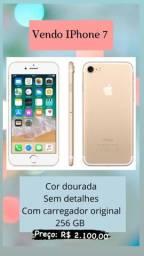 IPhone 7 256GB Dourado - Preço Imperdível
